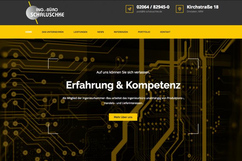 Übersichtlich, schnell und responsive: Unsere neue Homepage steht!