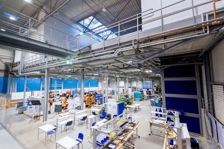Lernfabrik an der Ruhr-Uni Bochum